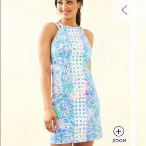 Brand New Lilly Pulitzer Pearl Stretch Shift Dress